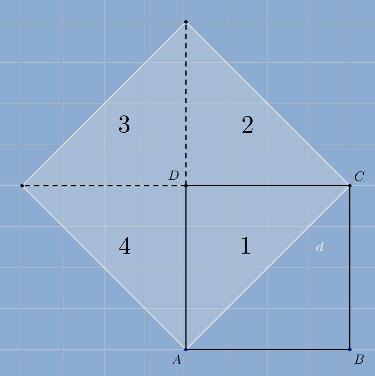 23 knobelaufgabe verdopplung eines quadrats mathematicus. Black Bedroom Furniture Sets. Home Design Ideas